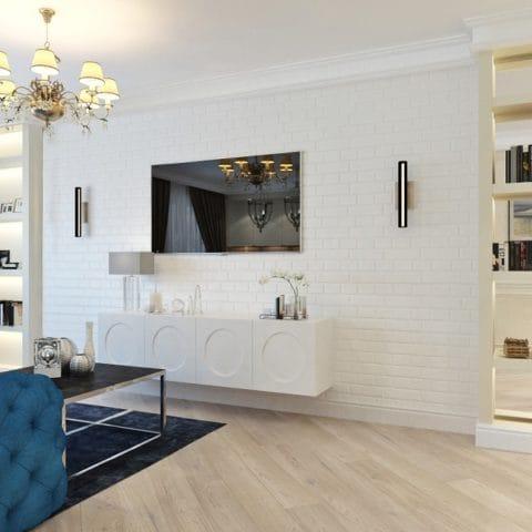 дизайн 4 комнатной хрущевки