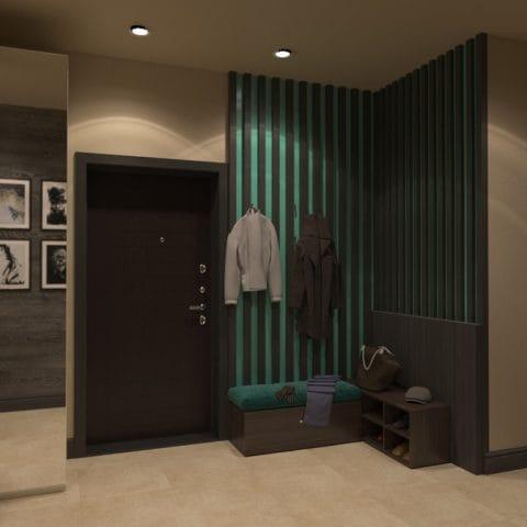 Дизайн трехкомнатной квартиры копэ