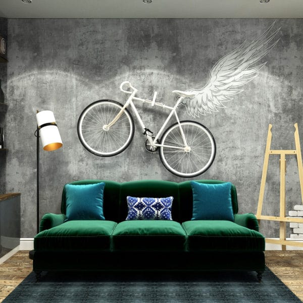 Дизайн квартиры-студии 37 кв.м. в стиле эклектика