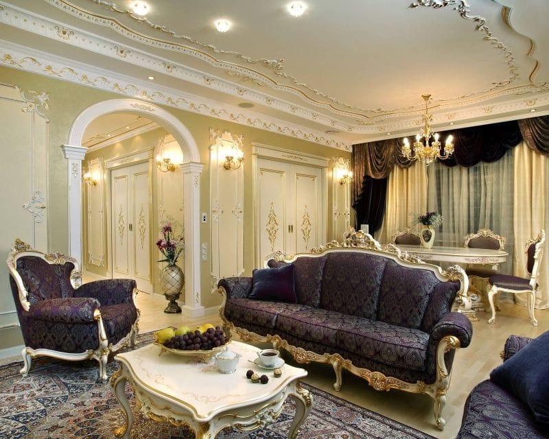 Дизайн в стиле барокко