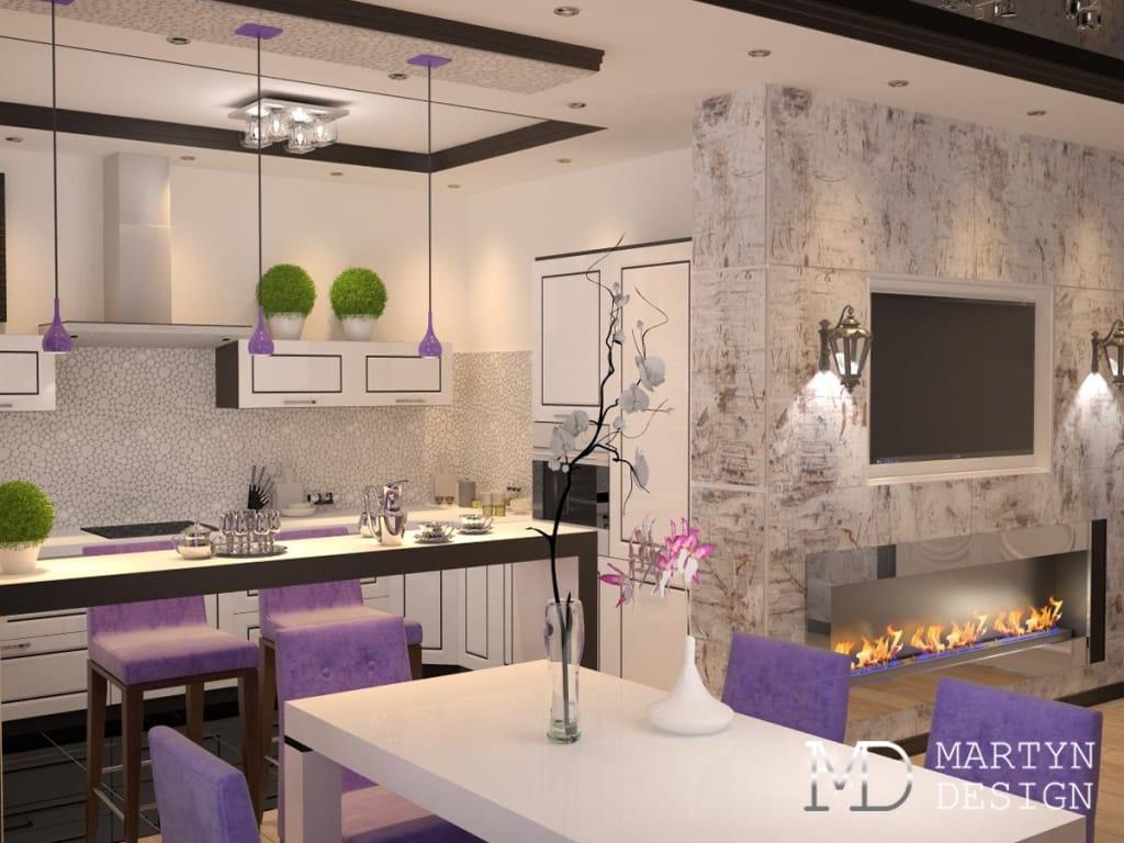 Кухня столовая в стиле модерн