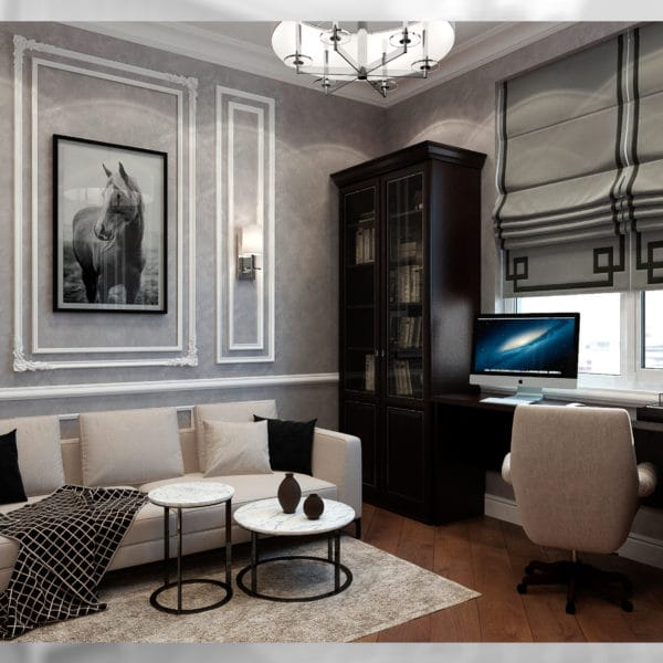 Дизайн дома 200 кв. м. с планировкой в классическом стиле
