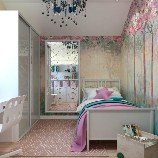 дизайн-проект детской спальни