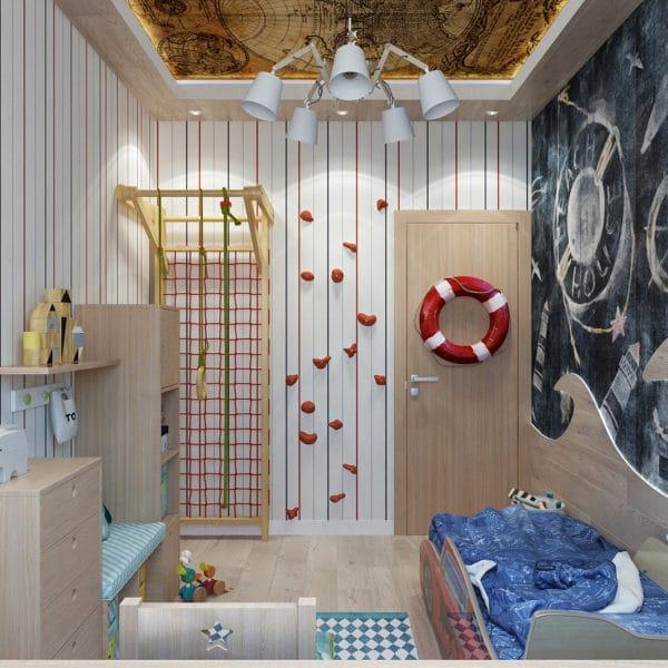 Квартира для дружной семь из трех человек – папа, мама и замечательный ребенок