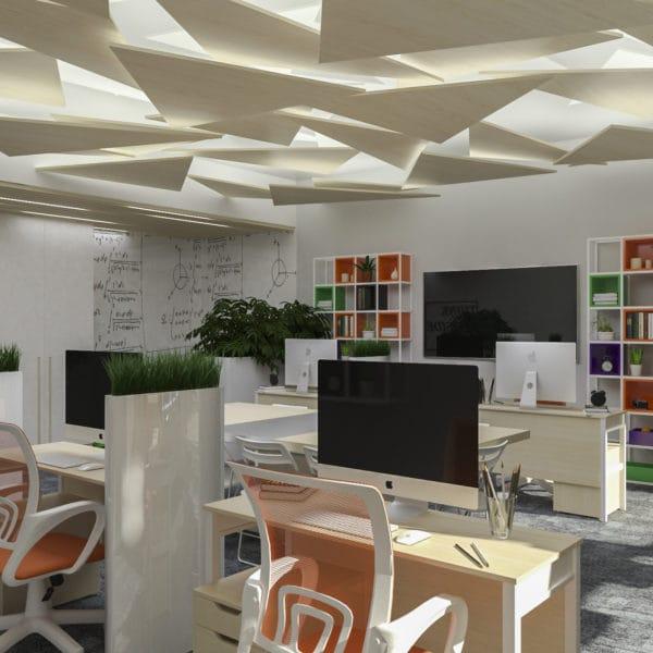 Дизайн-проект офисного помещения КРОК