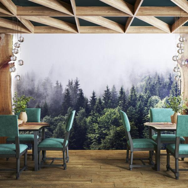 Ресторан в г. Губкинский (Сибирь) в Этническом стиле